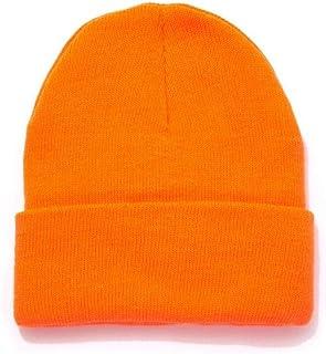 HOT SHOT Men's Thinsulate Acrylic Cuff Knit Hat – Blaze Orange Outdoor Hunting Camouflage