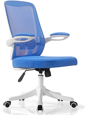 Office Chair, Computer Chair Extra Comfortmesh Computer Office Chair Torsion Control Desk Chairs Breathable Mesh Lumbar Support Arm Pads Plastic,Soft and Comfortable