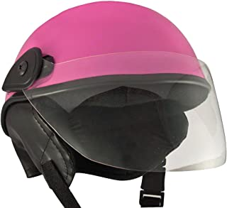 Anokhe Collections Racing Master Half Helmet, Medium (Glossy Pink)