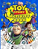 Toy Story Activity Book: Dot To Dot, Maze, Word Search, Hidden Objects, Spot Differences, Coloring, Find Shadow, One Of A Kind Activities Books For Adults, Kids