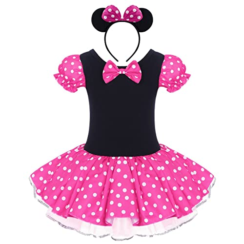 25f6447887 Infant Baby Toddlers Girls Polka Dots Birthday Princess Bowknot Tutu Dress  Cosplay Pageant Dress up Carnival