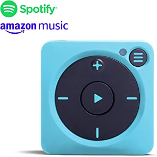 Mighty Vibe Spotify Music Player - Bluetooth & Wired Headphones - 1,000+ Song Storage - No Phone Needed - Blue