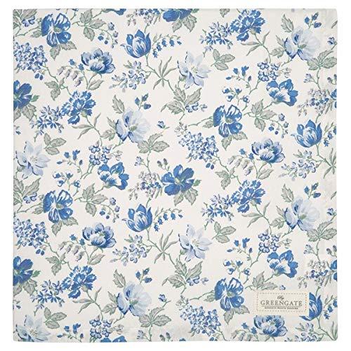 Greengate Tischdecke Donna Blue 150x150 cm - COTTAB150DON2502
