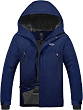 Wantdo Men`s Waterproof Snowboard Jacket Windproof Mountain Winter Ski Snow Coat