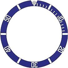 BLUE BEZEL INSERT ALUMINUM FOR ROLEX SUBMARINER 16610 16610LV 16613 BLUE SILVER