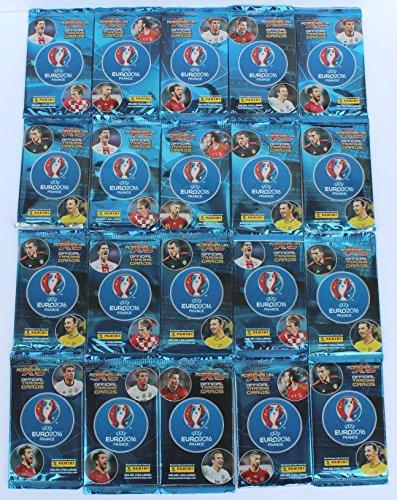 Panini adrenalyn Euro 2016 - SObre con 120 cromos