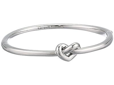 Kate Spade New York Loves Me Knot Loves Me Knot Bangle (Silver) Bracelet