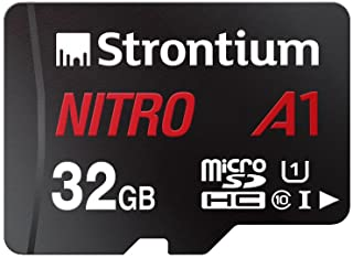 Strontium Nitro 32GB Micro SDHC Memory Card 100MB/s A1 UHS-I U1 Class 10 w/ Adapter High Speed For Smartphones Tablets Dro...