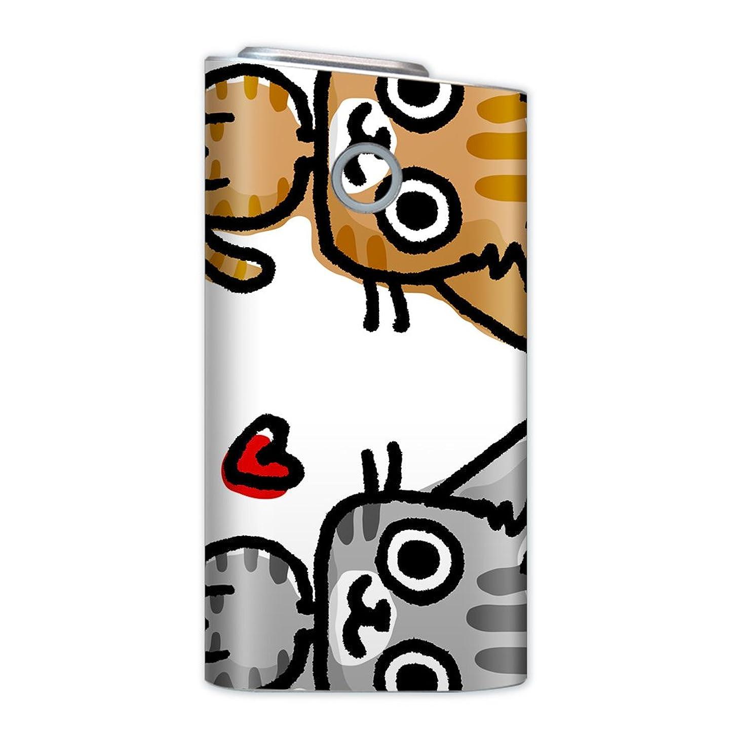 一晩呼びかけるアラブ人glo グロー グロウ 専用スキンシール 裏表2枚セット カバー ケース 保護 フィルム ステッカー デコ アクセサリー 電子たばこ タバコ 煙草 喫煙具 デザイン おしゃれ glow キャラクター 動物 猫 009216