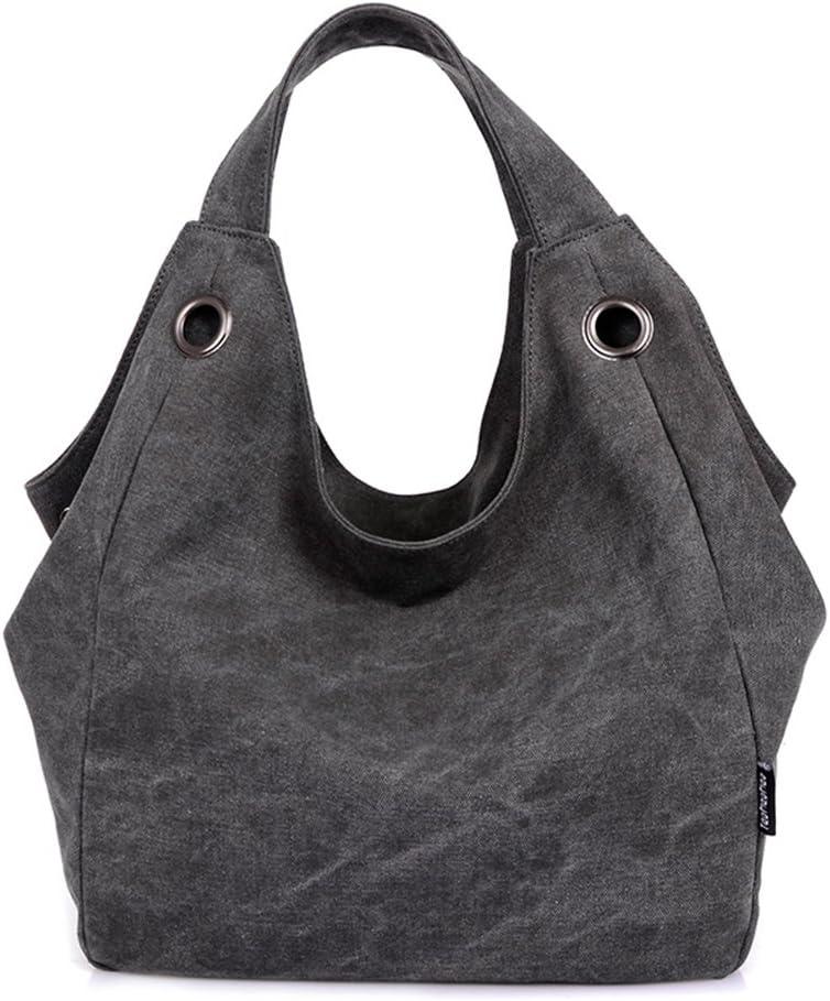 Women's 2021 spring and summer new Canvas Handbag High order Daily Top Shoulder Handle Bag Tote Hobo