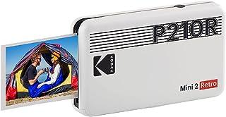 "Kodak Mini 2 Retro 2.1x3.4"" Portable Instant Photo Printer, Wireless Connection, Compatible with iOS, Android & Bluetooth,..."