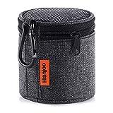 Hianjoo Tasche Kompatibel für Anker So&Core Mini, Tragbare Drahtlose Bluetooth Lautsprecher Hülle mit Karabiner, Schutzhülle Kompatibel mit Betron KBS08, Schwarz