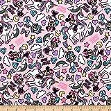 Camelot Fabrics 0673904 Minnie Mouse I Believe in Unicorns
