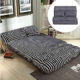 Japanese Folding Futon Mattress, <span class='highlight'>Floor</span> Mattress Metal Frame <span class='highlight'>Sofa</span> Bed <span class='highlight'>Lazy</span> <span class='highlight'>Sofa</span> for Small Apartment Dorm Room Game <span class='highlight'>Chair</span> -90x210cm(35x83inch)