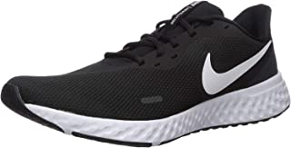 Nike Revolution 5 Men's Road Running Shoes,Black (Black/White/Anthracite),9.5 UK /44.5 EU