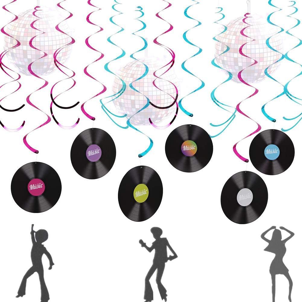 LaVenty Indianapolis Mall Music Banner Record Ball Decorati Disco Decoration Max 68% OFF
