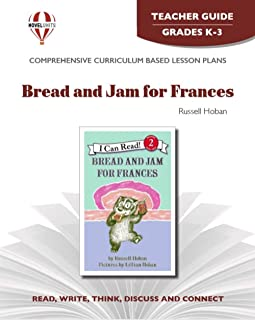 Bread and Jam For Frances - Teacher Guide by Novel Units