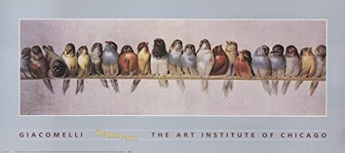 The Bird Perch by Hector Giacomelli Art Print, 36 x 16 inches