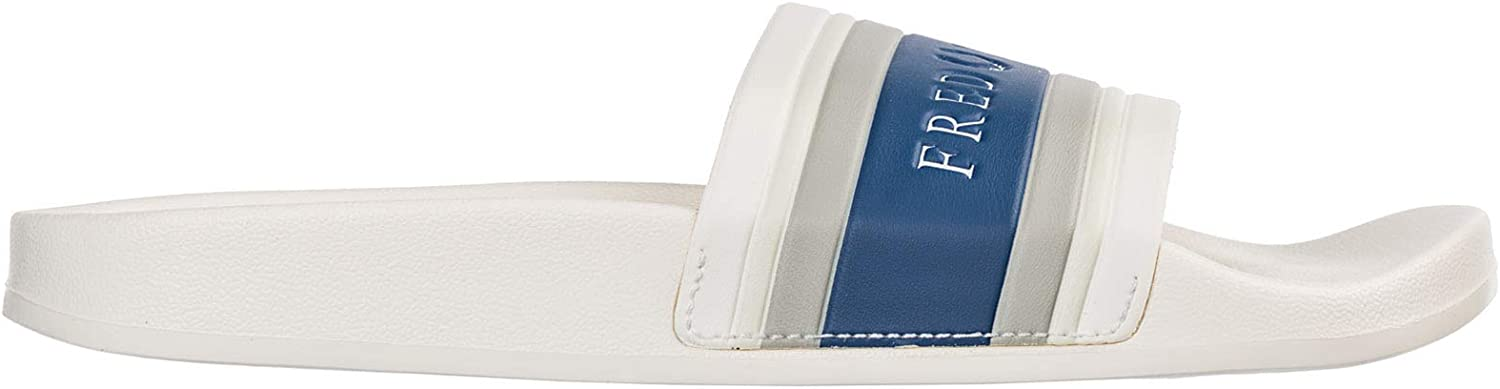 Fred Perry Men Slides Snow White