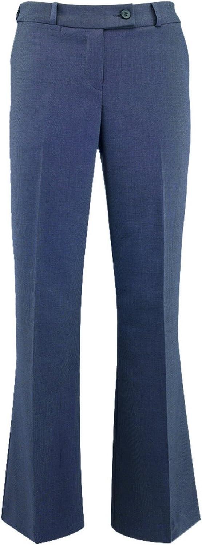Alexandra Womens/Ladies Icona Bootleg Formal Work Suit Trousers (16S) (Black)