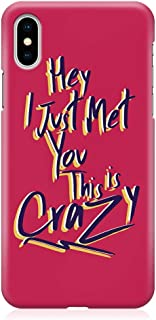 Loud Universe Phone Case Fits iPhone XS Wrap Around EdgesCrazy Phone Case Love Phone Case Valentine Phone Case Music iPhon...