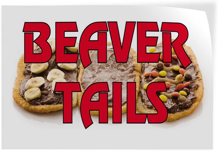 Decal Stickers Multiple OFFer Sizes Beaver Advertising Fashion Tails Outdoor P