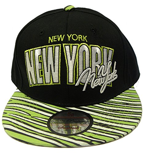 State Property/KB-ethos/City Hunter - Gorra de béisbol - para hombre New York-Black/Multi