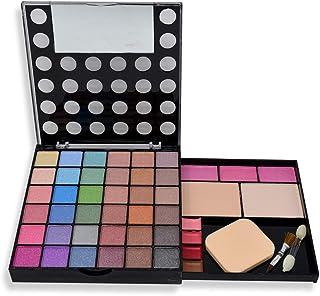 TYA 36 Color Eyeshadow, 2 Compact, 3 Blusher, 4 Lipstick Blemishless Makeup Kit with Lilium Aloevera Cream