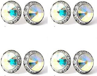 crystal ab dance earrings