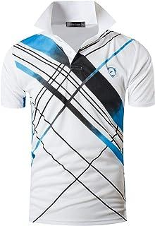 Men's Sport Outdoor Quick Dry Short Sleeves Polo Tee T-Shirt Tops LSL195