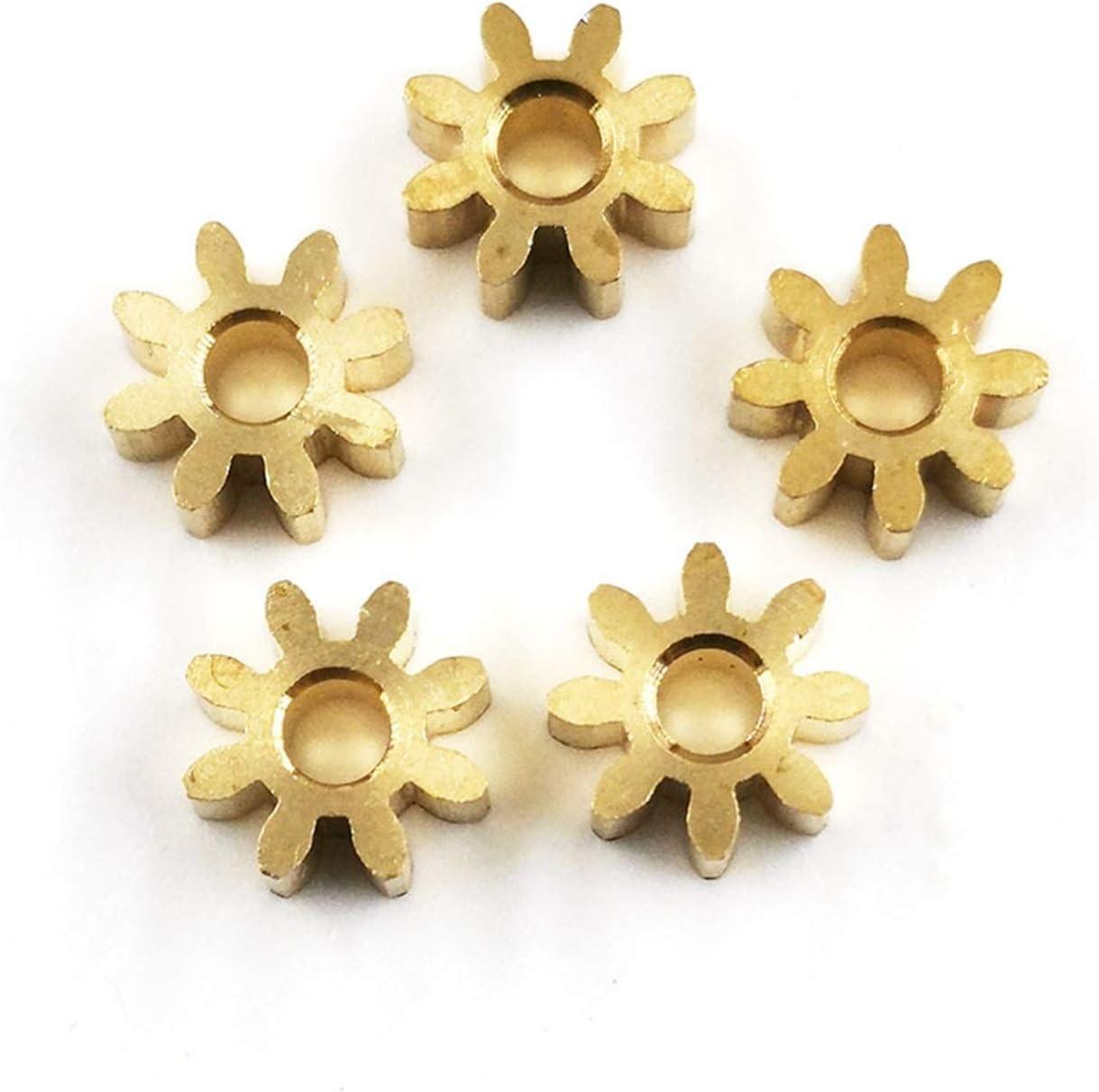 TMP1105 82A Gears 0.6M Copper Pinion 2.5mm Diameter List price 6mm Width 5 ☆ popular 8