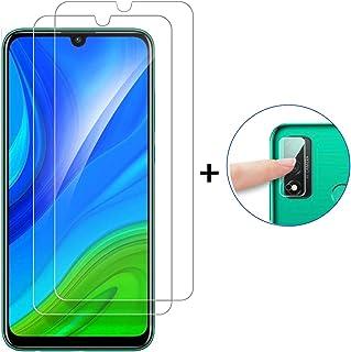 Protector de Pantalla Huawei P Smart 2020 Cristal Templado+ Cámara Protector [9H Dureza][Alta Definición][Fácil de Instalar] Vidrio Templado HD Protector Pantalla para Huawei P Smart 2020 (2 Piezas)