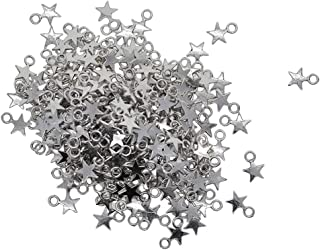Baoblaze Craft Supplies 300Pcs Stars Pendants Beads Charms Star Pendant Bulk for Crafting, Jewelry Findings Making Accesso...