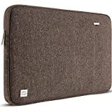 DOMISO 13,3 pulgada Funda para portátil Bolsa de transporte para de 13' MacBook Air 2014-2017/13,3' ThinkPad L390 Yoga X380 Yoga/13,9' Lenovo Yoga C930 GLASS/HP EliteBook 830 G5 840 G5 x360 G2, Marrón