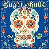 "Sugar Skulls 2021 Mini Wall Calendar: Day of the Dead (7"" x 7"", 7"" x 14"" open)"