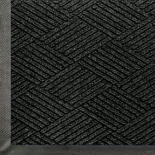 WaterHog Eco Commercial-Grade Entrance Mat, Indoor/Outdoor Black Smoke Floor Mat 3' Length x 2' Width, Black Smoke by M+A Matting - 2295700023