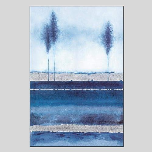 comprar mejor Moderno Minimalista Pintado A Mano Paisaje Pintura Al Al Al óleo Sala De Estar Dormitorio Hotel Oficina Pintura Decorativa  venta caliente en línea