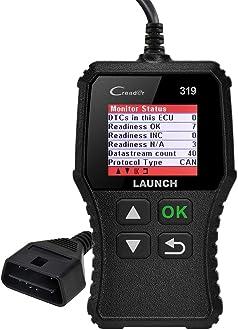 LAUNCH CR8001S Outil Diagnostic Voiture avec 4,0 Pouces /Écran Couleur Scanner Auto en Fran/çais pour Tester 4 syst/èmes R/énitialisation dHuile//EPB//SAS//BMS avec Mise /à Jour Gratuite