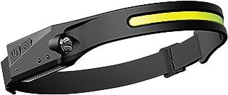 Dheera Luz de corrida noturna, com carregamento USB à prova d'água, lâmpada de 3 modos de iluminação, lanterna de cabeça e...