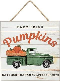 Farm Fresh Pumpkins Wood Sign - 10
