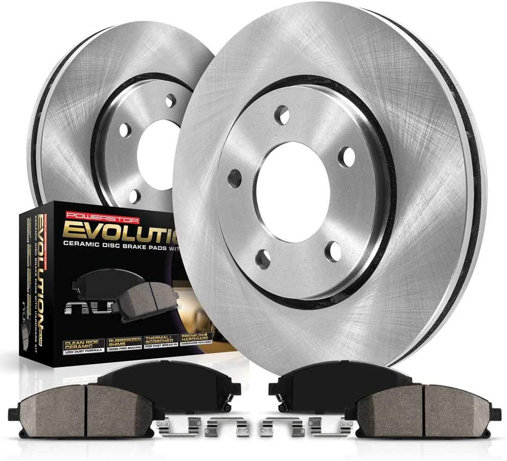 Power Stop KOE8545 Autospecialty Rear Kit-OE Max 60% OFF Rotors Brake Limited time sale