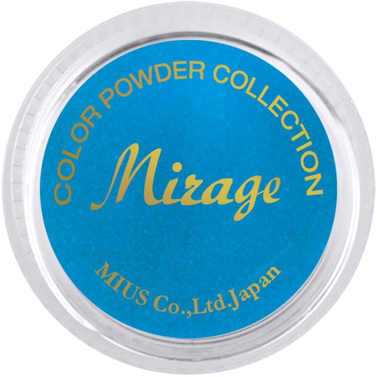 ペイン対象割り込みミラージュ カラーパウダー N/WBS-7  7g  アクリルパウダー マットで定番のスタンダードカラー
