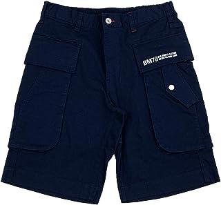 [BMC ブルーモンスタークロージング] ショートパンツ メンズ 大容量3Dカーゴポケット ストレッチ チノ素材 エアーフォース ベーカー ショーツ