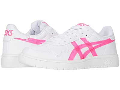 ASICS Kids Japan S (Big Kid) (White/Hot Pink) Girls Shoes