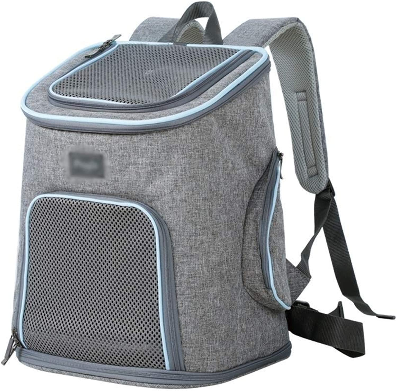 IRVING Pet Backpack Backpack Out Teddy Dog Bag Cat Bags (color   B)