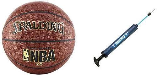 Baloncesto Deportes Rubber Oficial Tama/ño Bal/ón Pelota de Baloncesto Regalos para Adulto Juventud Uso para Interior o Exterior Juego Negro Talla 7