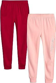 Girls' Sweatpants – 2 Pack Active Fleece Jogger Pants...