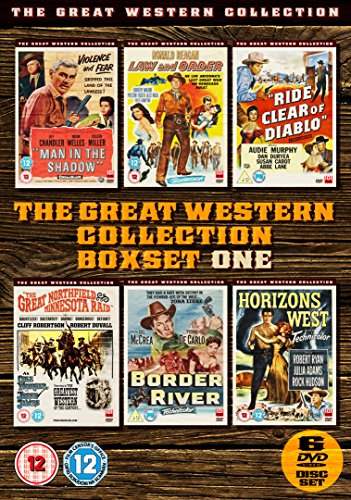 The Great Western Collection - Volume 1 (6-Disc Box Set) [Non USA PAL Format]
