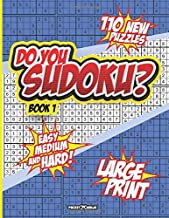 DO YOU SUDOKU?: BOOT-CAMP BRAIN WORKOUT - Math Puzzle Book - LARGE PRINT PUZZLES –