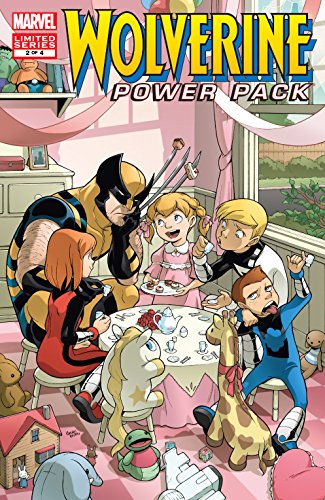 Wolverine and Power Pack (2008-2009) #2 (of 4) (English Edition ...